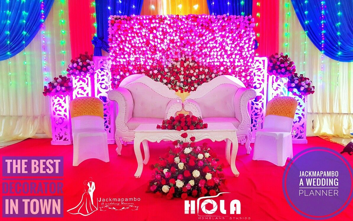 New wedding stage decoration  We give a high Possibility of having a quality decoration on your