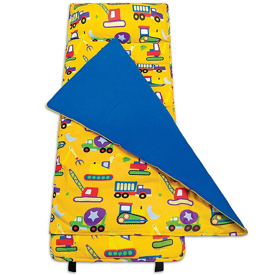 Olive Kids Under Construction Nap Mat In Yellow Kids Nap Mats