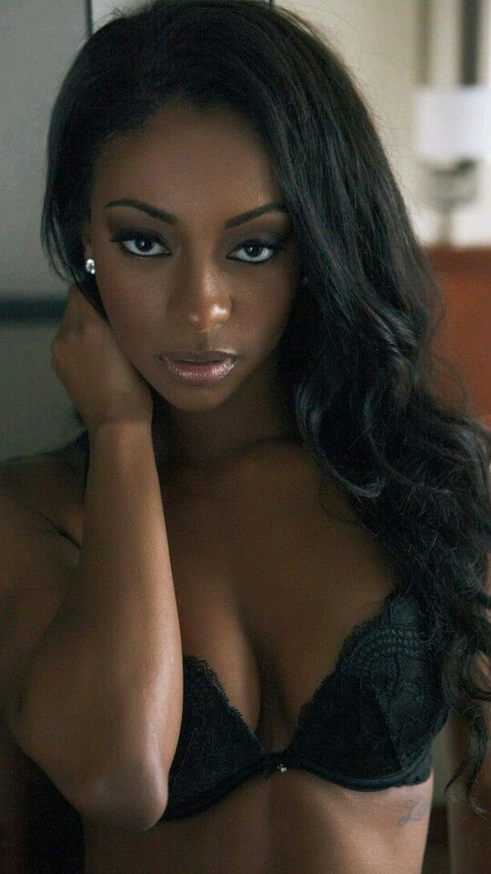 Dark Beautiful Bedroom Eyes  Beautiful Black Women -6393