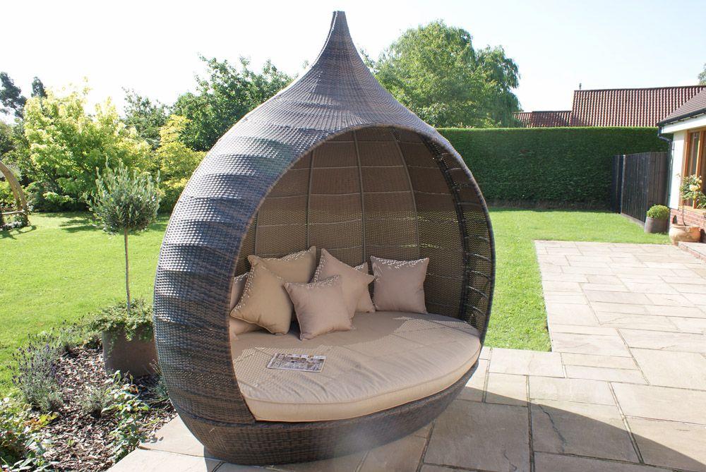 rattan garden daybed - Garden Furniture Pod