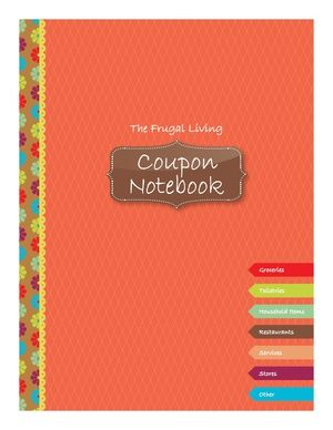 printables  create  coupon binder planner addict pinterest coupons