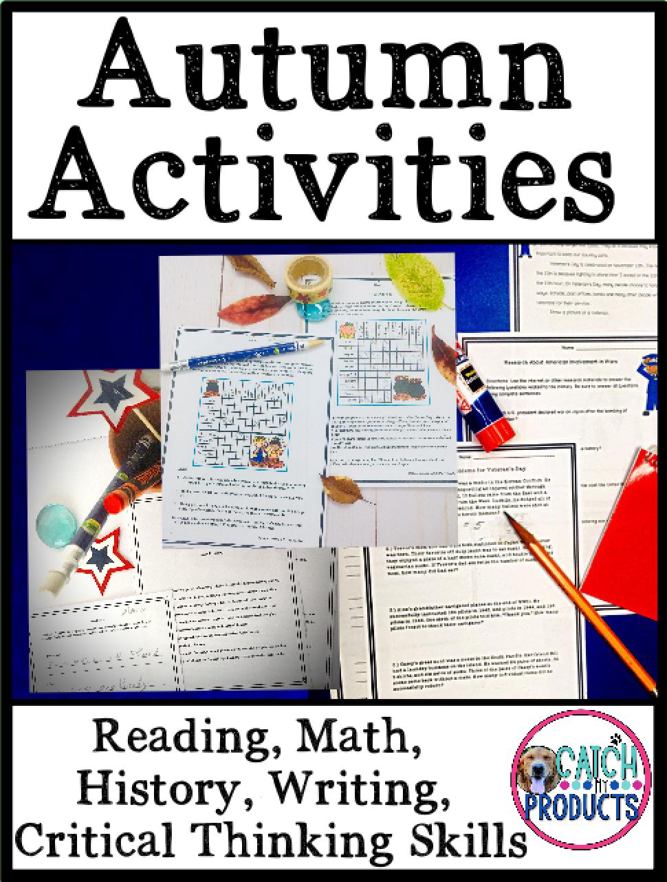 Autumn Teaching Activities For Kids Critical Thinking Activities Teaching Activities Halloween Lesson Plans [ 1282 x 970 Pixel ]