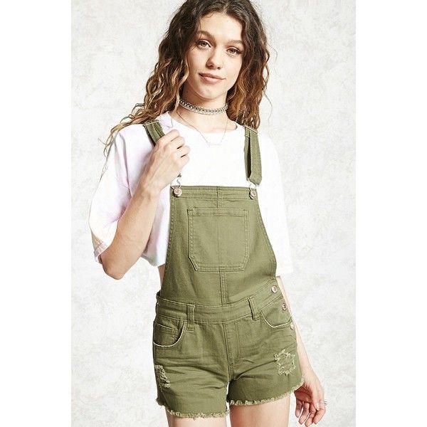 Designer Clothes, Shoes & Bags for Women   SSENSE. Short OverallsBib  OverallsArmy Green ShortsOlive ...