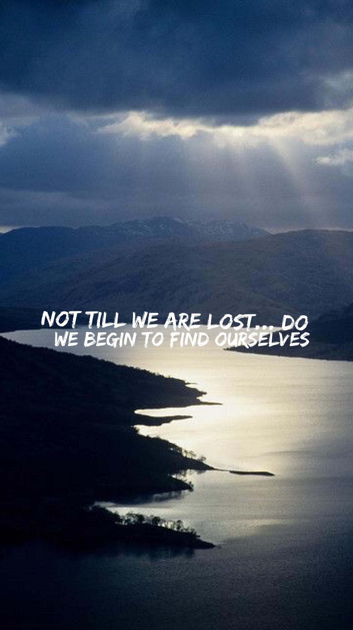 Nature/Thoreau Quote iPhone Mobile Wallpaper