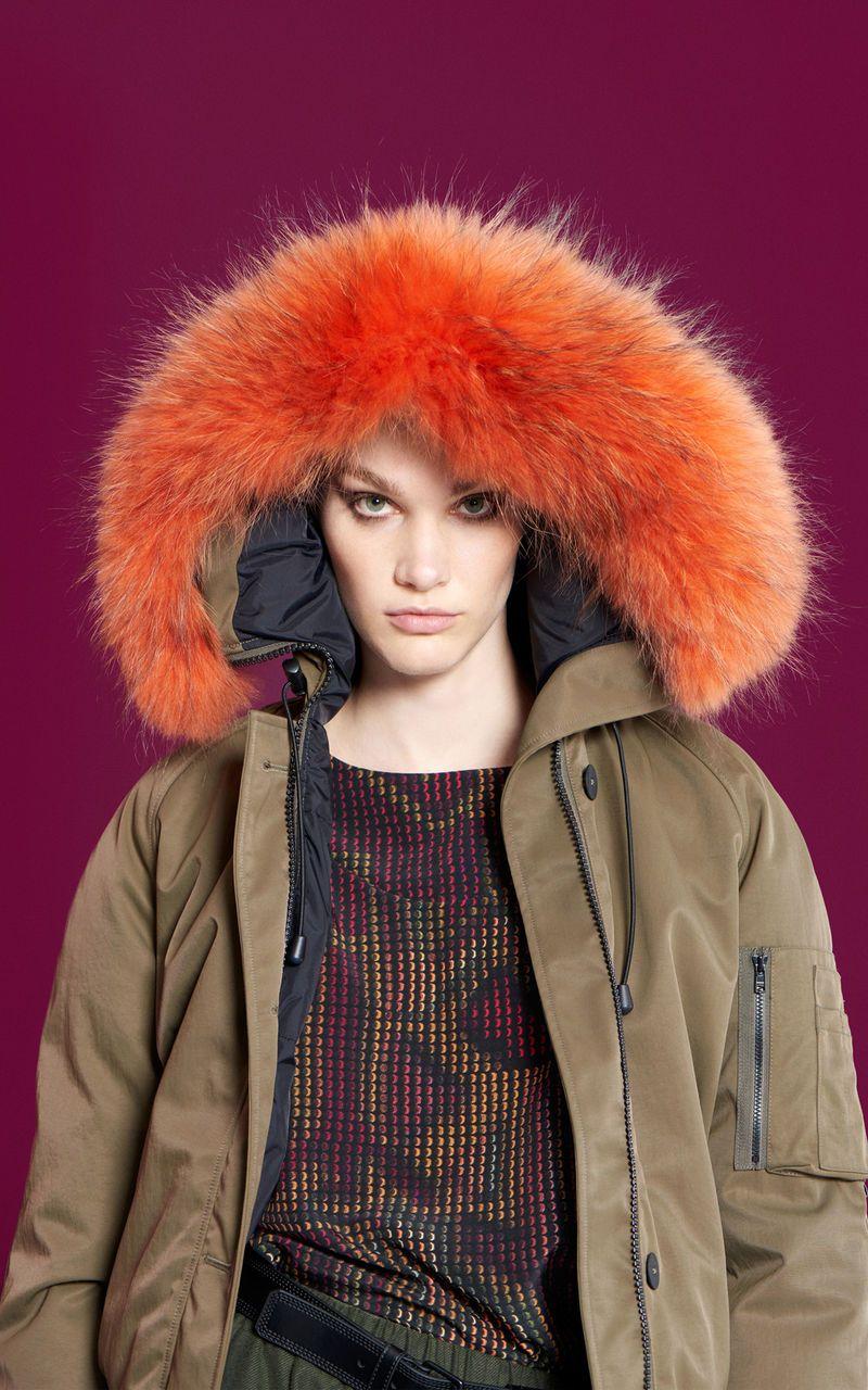 4e3ce0f458 Short Fur Parka, KENZO | Jackets/Coats/Sweaters | Parka, Winter ...
