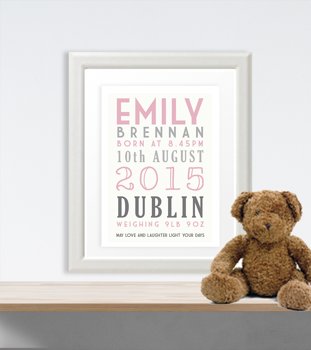 Personalised gifts ireland baby gifts engagement gifts personalised gifts ireland baby gifts engagement gifts christening gifts wedding gift ideas negle Gallery