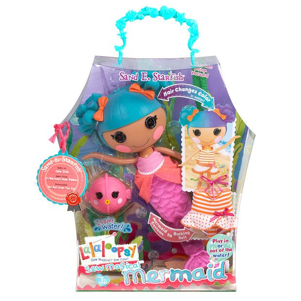 Lalaloopsy Sew Magical Mermaid Doll Target Australia