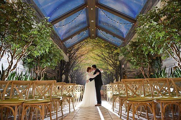 Indoor Garden Wedding Venue Woodland Weddings 2018 Trends