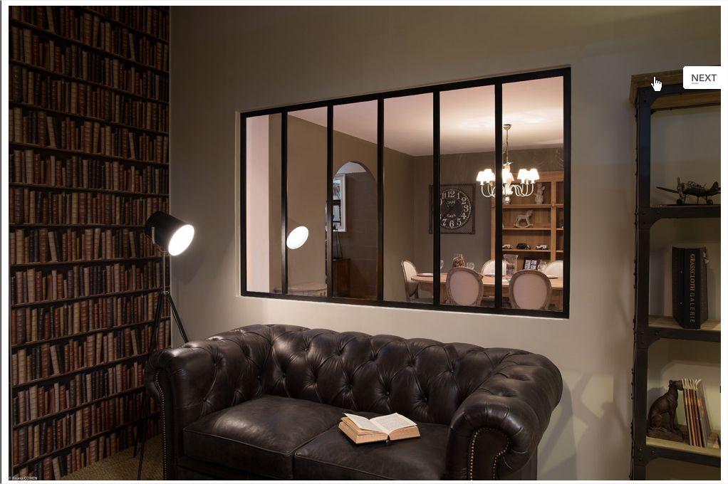 une verri re int rieure so nice d co am nagement pinterest. Black Bedroom Furniture Sets. Home Design Ideas