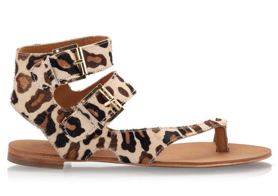 96ede2ac94e2 Ash MAEVA Leopard print gladiator style thong toe ring sandals   AshShoes   AshSandals  AnimalPrint