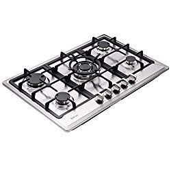15 Best Rated Gas Cooktops 2019 Stainless Steel Vs Tempered Glass In 2020 Gas Cooktop Cooktop Gas Cooker