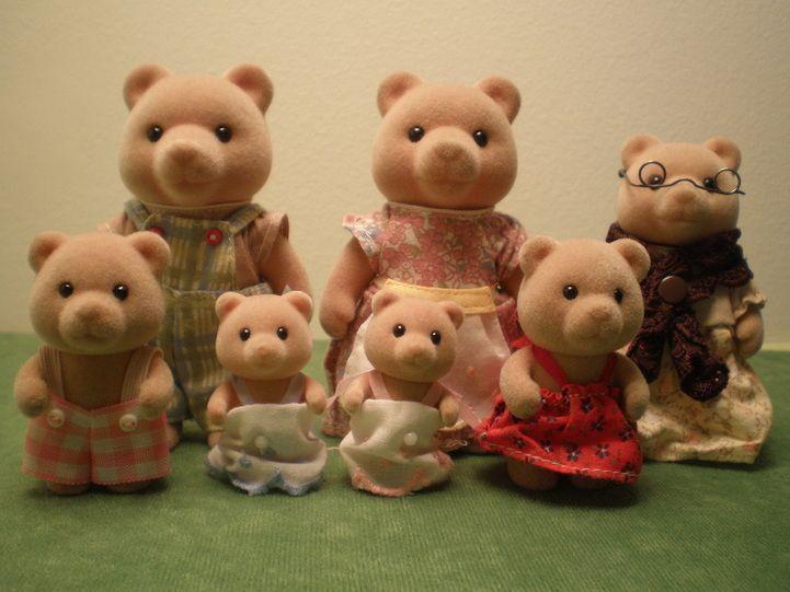 Otto Babyzimmer ~ Huntington honey bear fam mom ursula pop otto sis sara bro miles