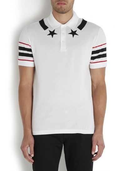 c0a51b6f White piqué cotton polo shirt - Men - Sale £174.00 (40% off) | Your ...