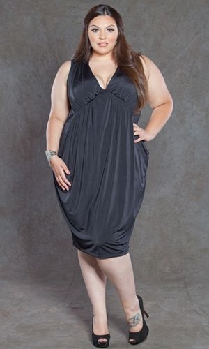 Pocket Drape Dress $69..now all I need is a place to wear it!