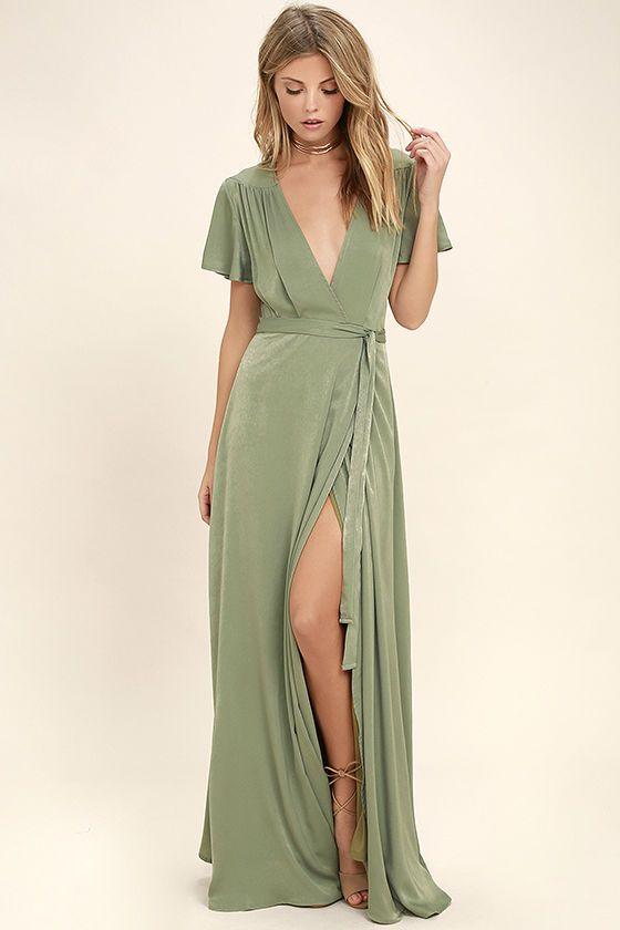a4cb67dea6 City of Stars Sage Green Maxi Dress | Rachel Bridesmaid Dresses ...