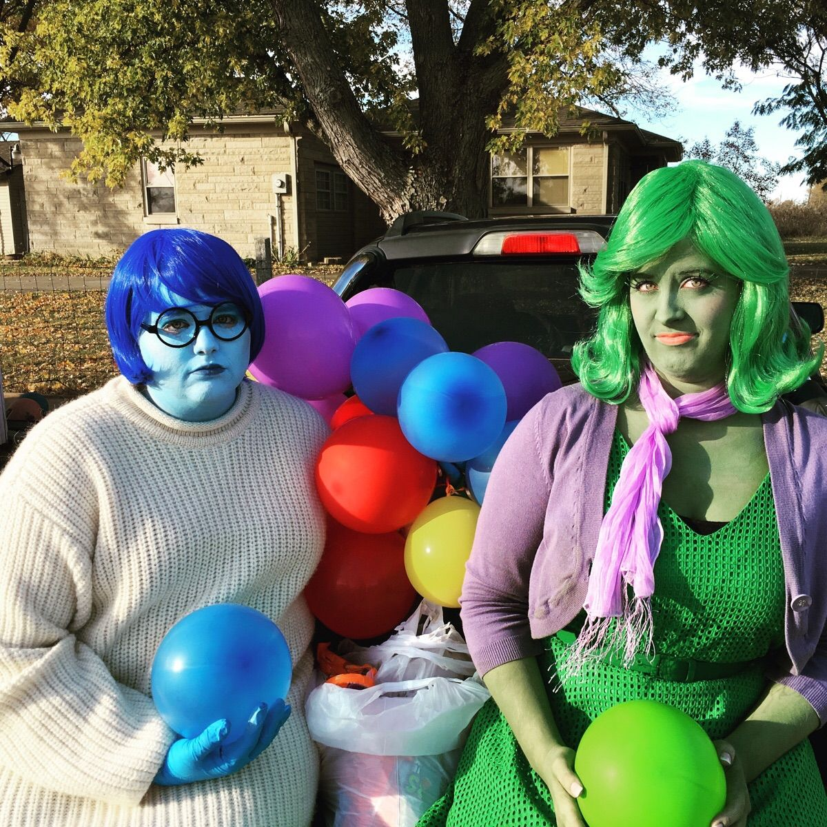 INSIDE OUT TRUNK OR TREAT Google Search Trunk or treat