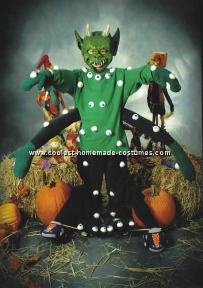 kids halloween costume monster