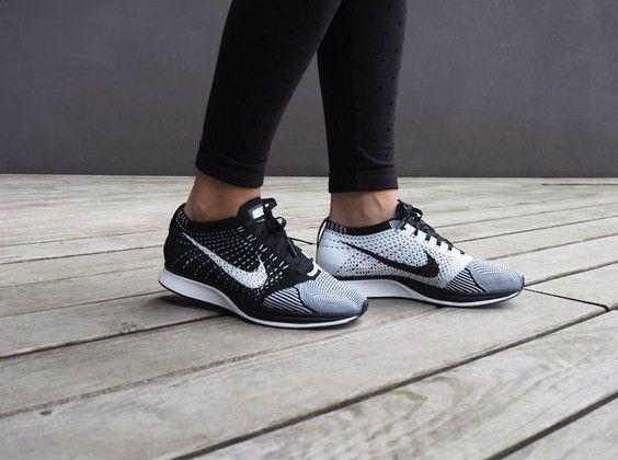 Ways To Wear Nike Flyknit Racer Sneaker Onpointfresh Nike Flyknit Racer Black Nike Shoes Casual Shoes Outfit