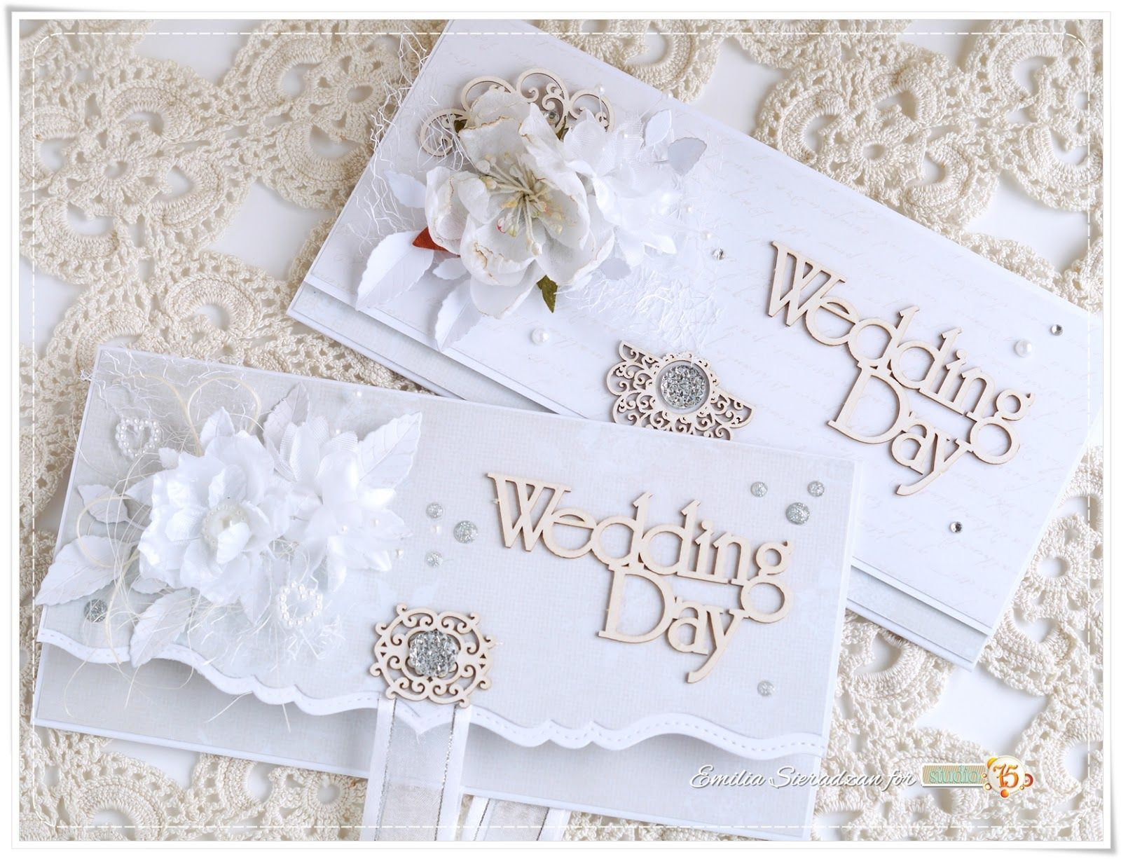 Hi :) Today I\'d love to share with you envelope style wedding cards ...
