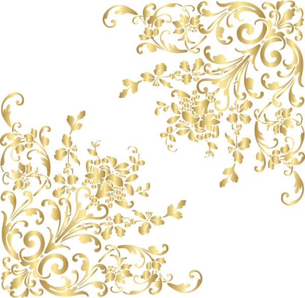 Gold Corners Png Clip Art Image Art Images Art Clip Art