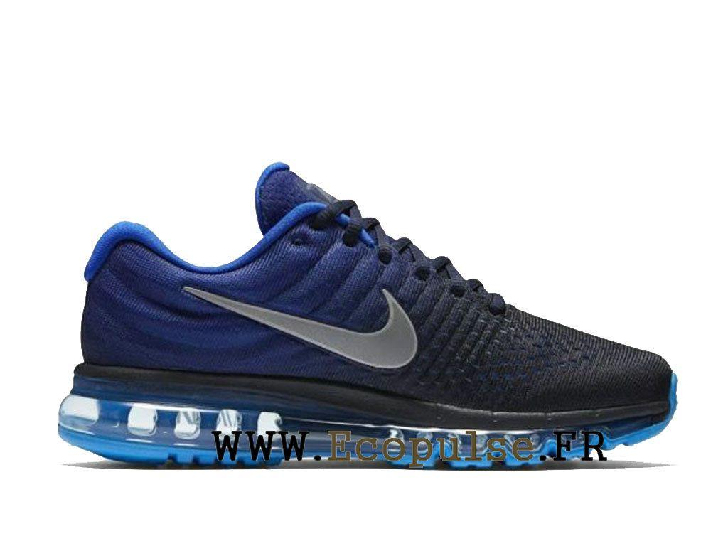 low priced b6736 db784 Nike Running Air Max 2017 Chaussures de basket-ball de sport Homme Bleu noir  849559