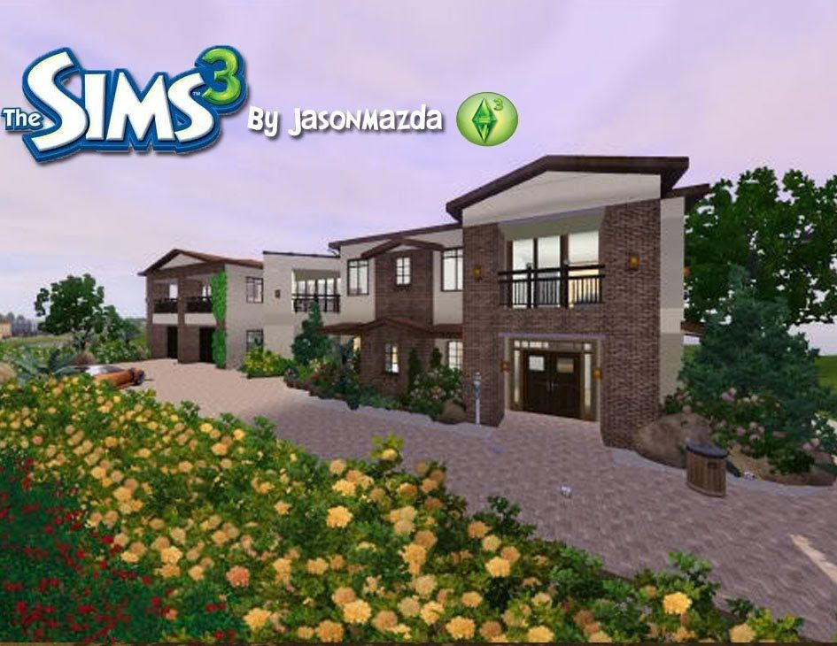 the sims 3 house designs - modernized tuscan estate | the good earth