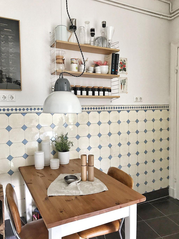 Lieblingsraum #küche – Im #altbau mit schönen #wandf…