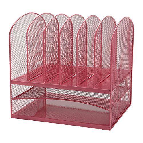 adir mesh desk organizer paper organizer desktop file holder file folder holder letter tray file organizer