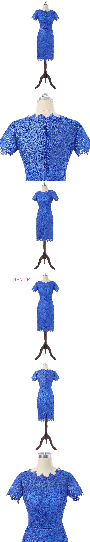 Royal blue wedding dresses plus size  Royal Blue  Mother Of The Bride Dresses Sheath Cap Sleeves Lace