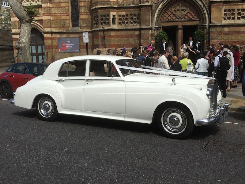 1960 Silver Cloud Rolls Royce   Elegance Wedding Cars - London ...