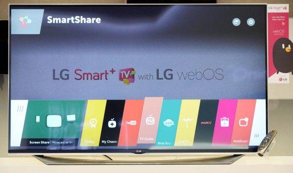 Новая Webos 2.0 платформа от LG с 4к контентом Умное