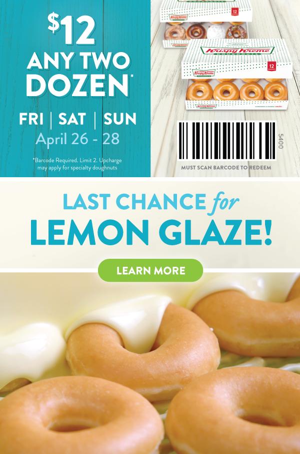 12 Double Dozen! Friday Sunday ☀️ Glazed doughnuts