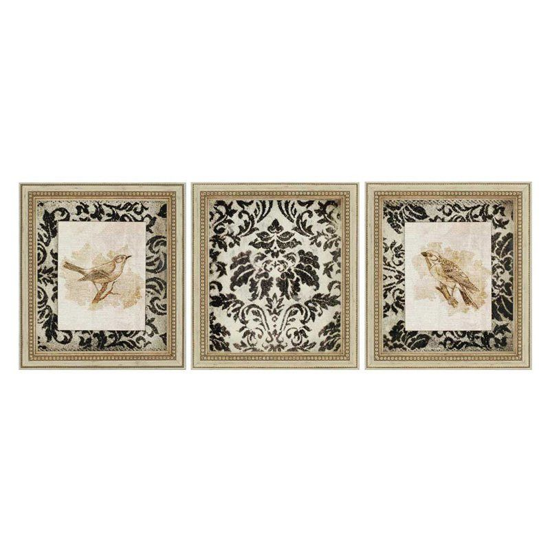 paragon decor vintage framed wall art set of 3 7454 products