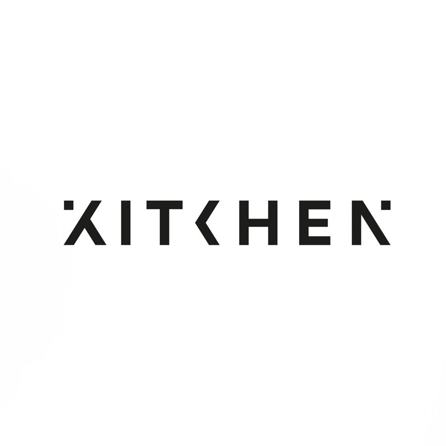 Great Logo Design By Kitchen In Typographic Style
