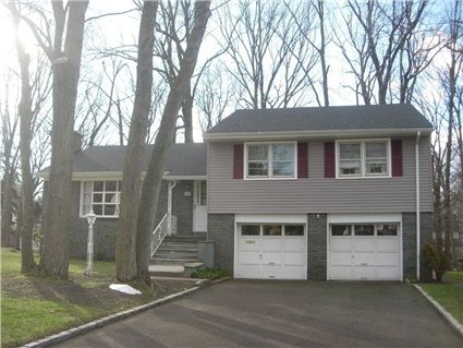 "114 Pittsford Way, New Providence Boro, NJ 07974 — Great opportunity! Spacious home w/wood floors/level lot in desirable neighborhood, blocks to Midtown Direct train, school. Newer roof/siding. A/C & master bath shower not functioning. Sold ""AS IS."""
