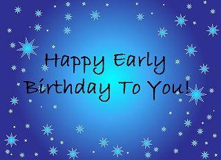Happy Early Birthday Arne Duncan On Your 52nd Birthday Happy Early Birthday Birthday Wishes For Friend Happy Birthday Meme
