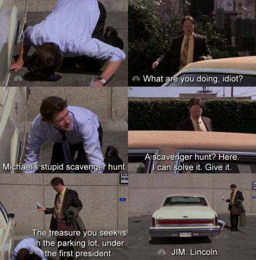 The Office Scavenger Hunt The Office Show Office Jokes Best Of The Office