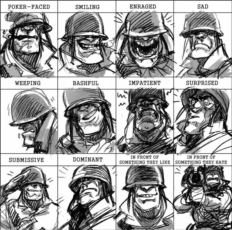 Soldier Expressions Meme By Kgbigelow Team Fortress 2 Team Fortress 2 Medic Team Fortress
