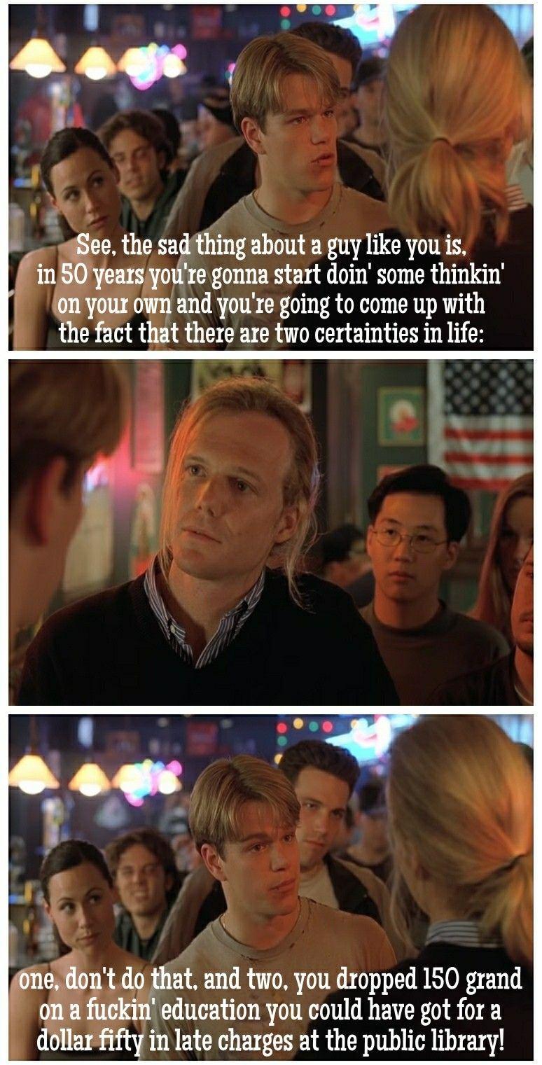 Good Will Hunting Quotes | Good Will Hunting Quotes Memes Trolls Good Will Hunting Movies