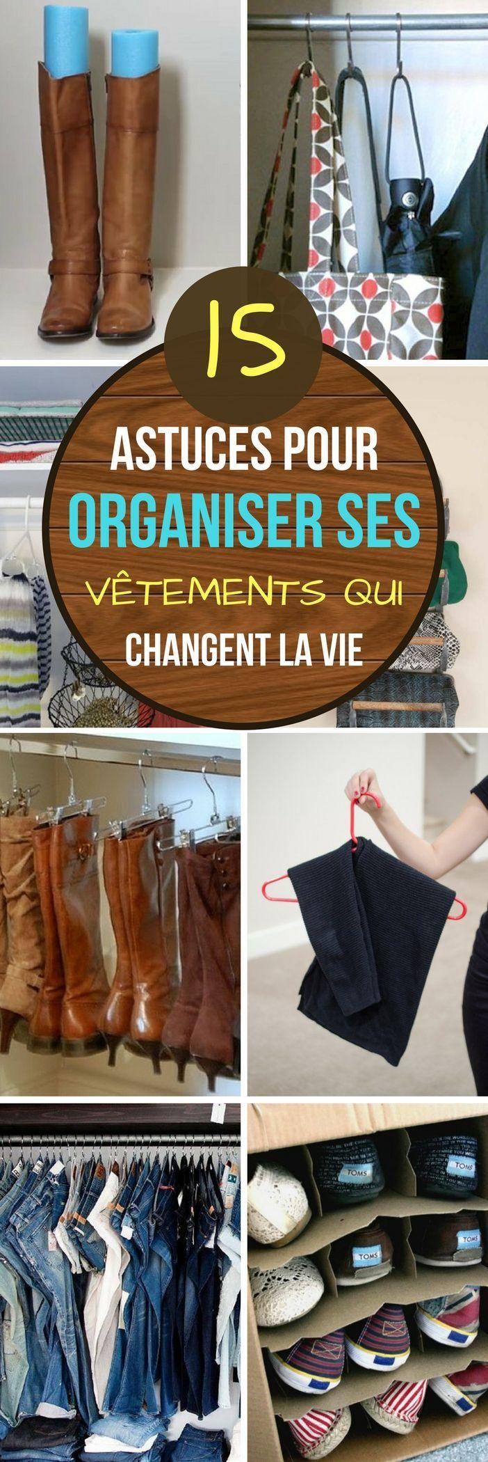 15 astuces pour organiser ses vêtements qui changent totalement la