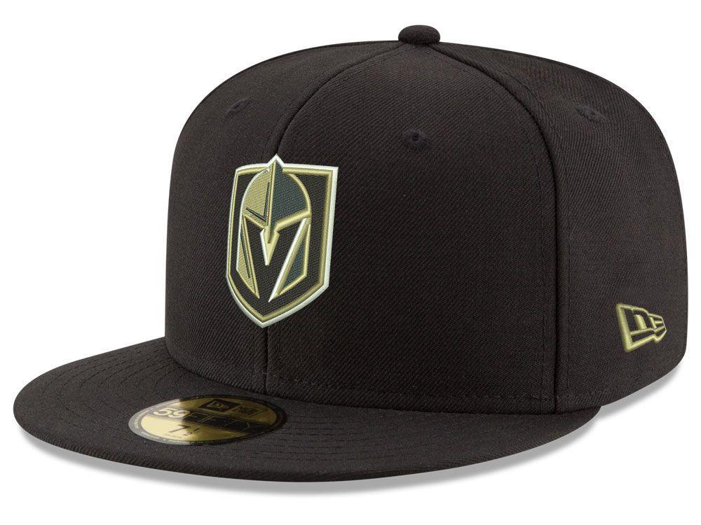 quality design a402d b2b6a Vegas Golden Knights New Era NHL Basic 59FIFTY Cap | Cap ...