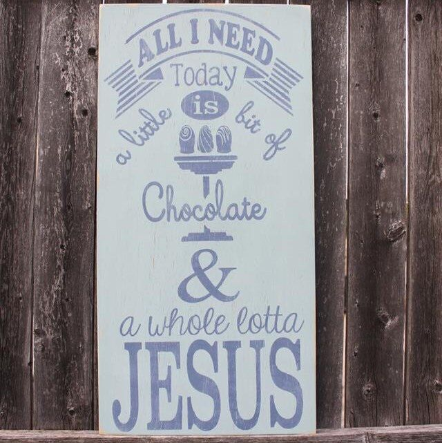 British Handmade wooden sign Life is like a box of Chocolates