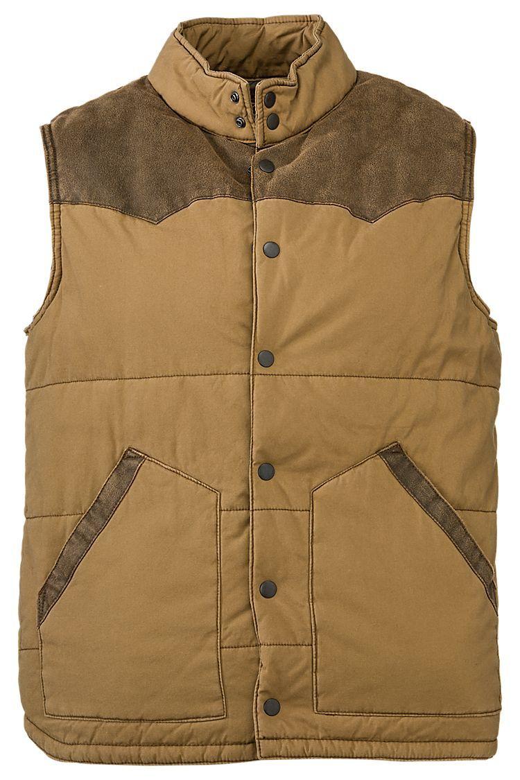 4eef342ec5e2 RedHead Canvas Vest for Men