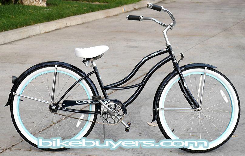 Lady S Beach Cruiser Bike Tahiti 26 Beach Cruiser Bicycle For