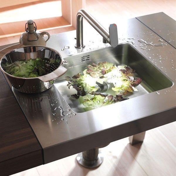 Küchenmöbel-Ideen-Spülbecken-Design