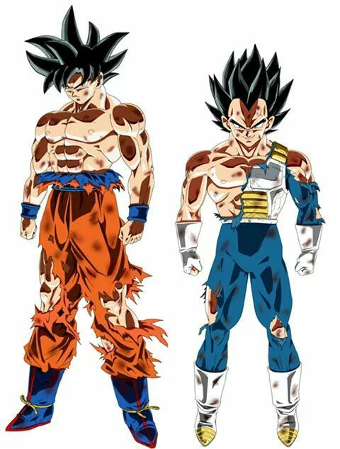 Fan made pic about the new form of goku. <-----> Double Tap to ...