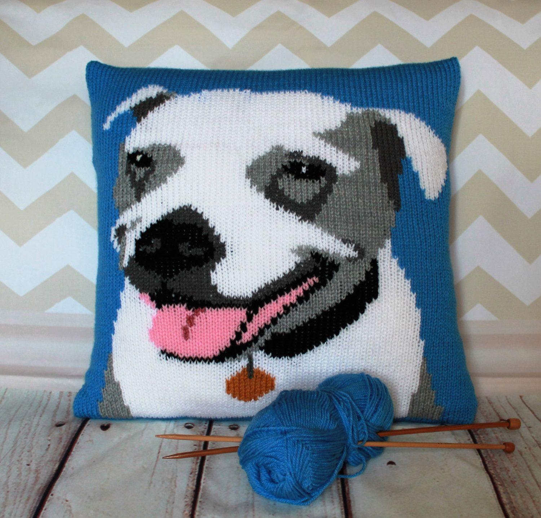 Knitting pattern pdf download staffiestaffordshire bull terrier knitting pattern pdf download staffiestaffordshire bull terrier pet portrait pillow cushion cover bankloansurffo Choice Image