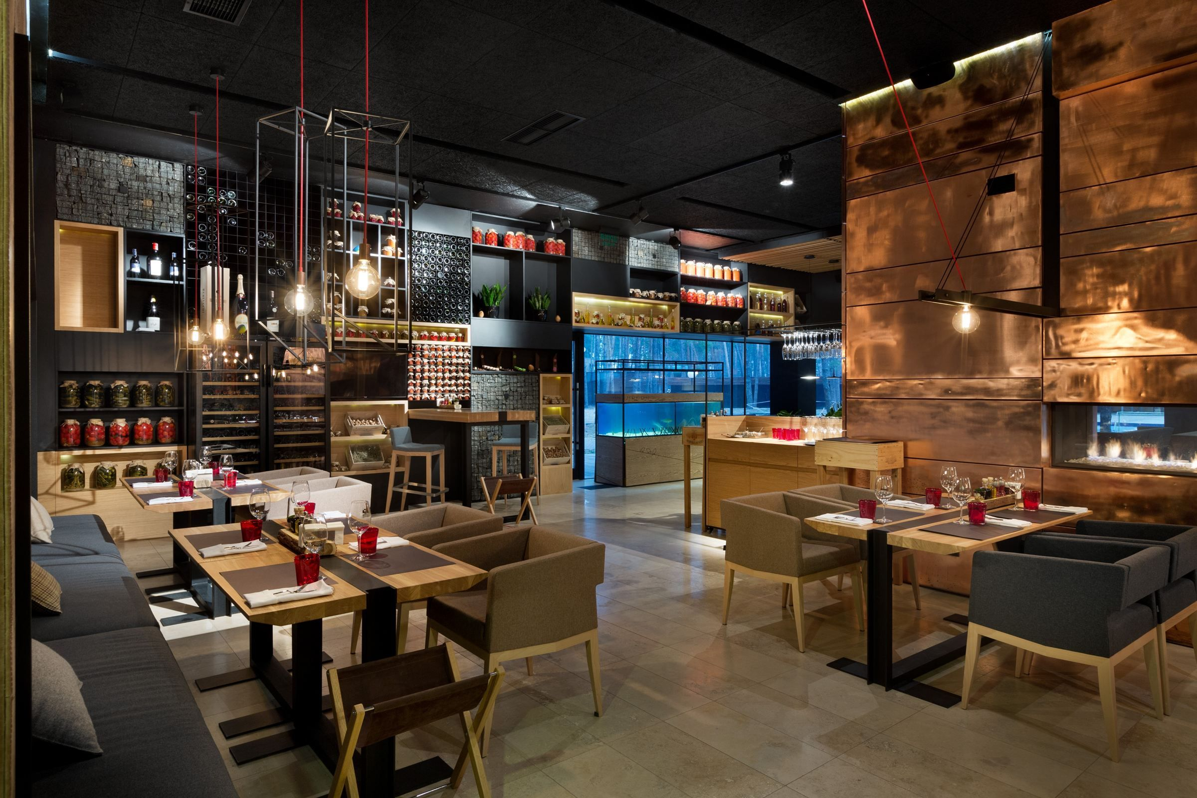 Archi The Professional Network For Architects And Designers Restaurant Bar Forest
