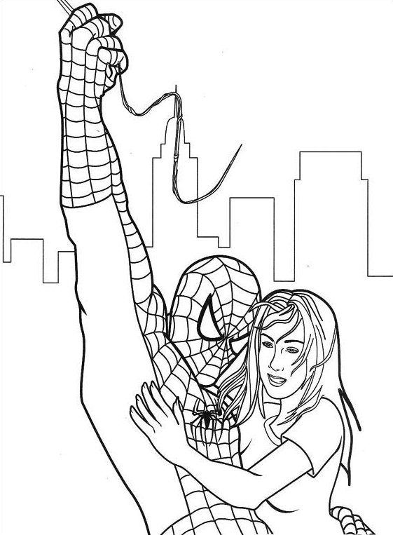 Pin By Frida Martinez On Spider Man Spiderwoman Spiderman Coloring Chibi Coloring Pages Superhero Coloring