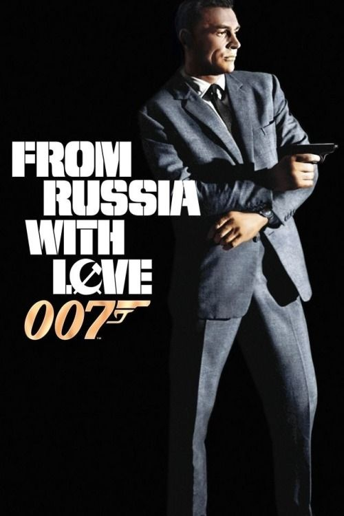 From Russia With Love 1963 James Bond Movie Posters James Bond